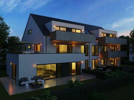 Villa Gründlach: Große 2-Zimmer-Neubau-Wohnung mit Balkon!