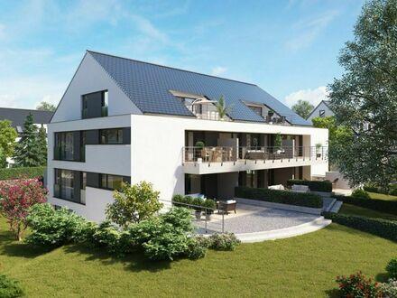 Erlangen-Dechsendorf: Exklusive Neubau-Wohnung mit 5 Zimmern und Gartenanteil!
