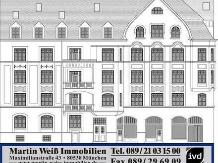 Herrschaftliche 7-Zimmer-Jugendstilwohnung in Schwabing / Nähe Josephsplatz