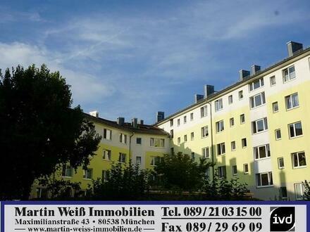 Sonnige 2-Zimmer-Wohnung mit Wohnküche in Obergiesing Nähe Wettersteinplatz