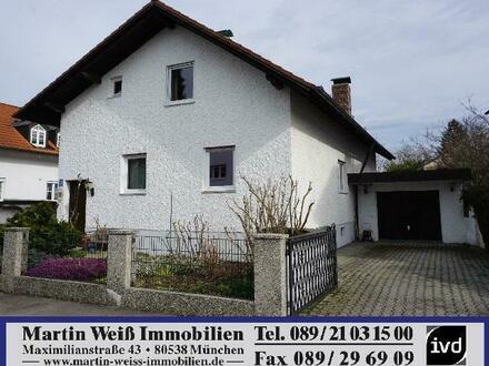 Authentisches Einfamilienhaus in München-Pasing/Lochham