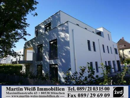 Neubau/Erstbezug: 4-Zimmer-Premium-Penthouse-Wohnung in Harlaching Nähe Perlacher Forst