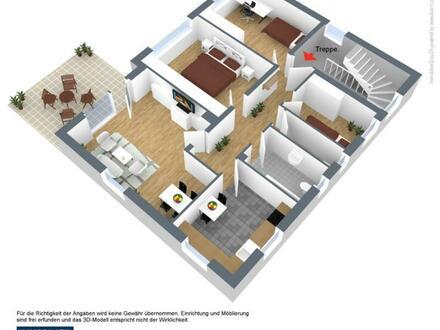 Walpertskirchen bei Erding 4-Zimmerwohnung im 1.OG mit Garten - Immobilienbüro SEIBOLD