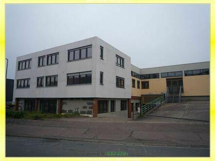 Miet-Kaufobjekt, 2-geschoss. Halle mit Wohnhaus und Büros