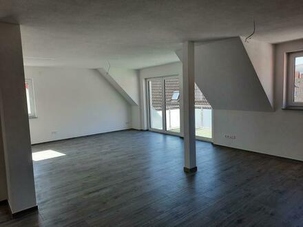 3½ Zimmer-Neubau-Dachgeschosswohnung im Zentrum von Lauchheim