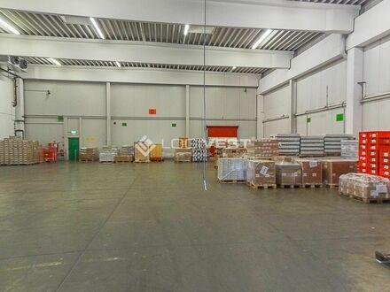 Gepflegte Logistikhalle inkl. Kühlraum | Rampentore | in DO/Unna direkt am Ruhrschnellweg