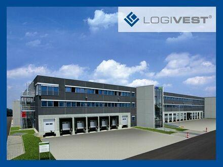 Neubau einer modernen Logistikhalle im Norden von München