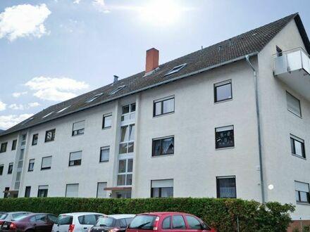 Gepflegte 1 Zimmerwohnung mit Balkon und PKW-Stellpaltz in Edingen-Neckarhausen!