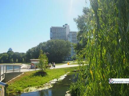 Wohnen wo andere ihre Freizeit verbringen 1 Zimmer ETW mit Tiefgarage, Nürnberg Wöhrder See