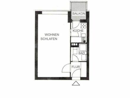 1-Zimmer-Appartment in zentraler Lage von Neu-Ulm