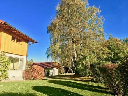 Landhaus mit Fernblick in idyllischer sonniger Lage von Icking!