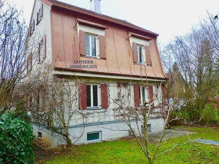 Vorankündigung! Historische kleine Villa von 1920 im Münchner Westen