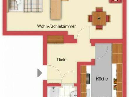 Preisgünstiges Dachstudio in Blankenloch-Büchig