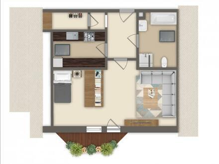 *** Wohnung mit Balkon - zwischen Ingolstadt und Pfaffenhofen - Selbstbezug oder Vermietung ***