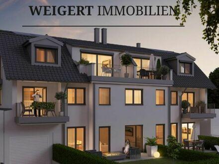 """WEIGERT: """"Stadtvilla Allach-Untermenzing"""" - 4 Zimmer-Dachgeschosswohnung mit Balkon und Südterrasse"""
