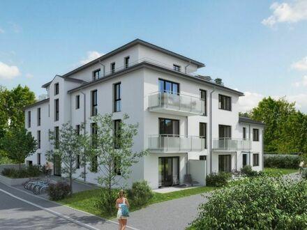 VERKAUFT! FÜRSTENFELDER TERRASSEN: 2-Zimmer-Wohnung mit Terrasse und Gartenanteil