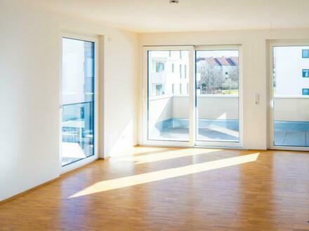 Neubau/Erstbezug in Langwasser-Schönlebenpark: 3-Zi.-Wohnung mit Terrasse und TG
