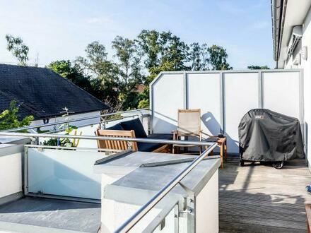 Gut vermietete komfortable 2-Zi.-Dachterrassen-ETW in Schwaig b. Nürnberg