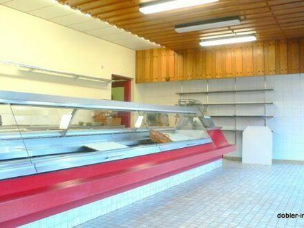 Ehemalige Metzgerei-Laden mit Kühlraum; 105 m²; große Schaufenster in Nbg.-Fischbach