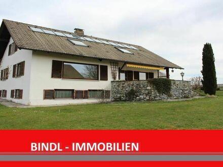 sehr ruhiges, teilrenoviertes Zweifamilienhaus in ansprechender Lage von Burggen bei Schongau