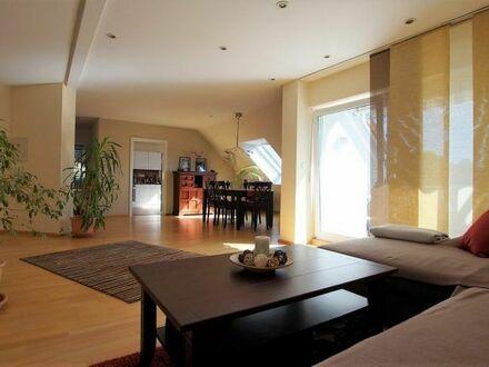 Schöne Maisonette-Wohnung mit Blick ins Grüne