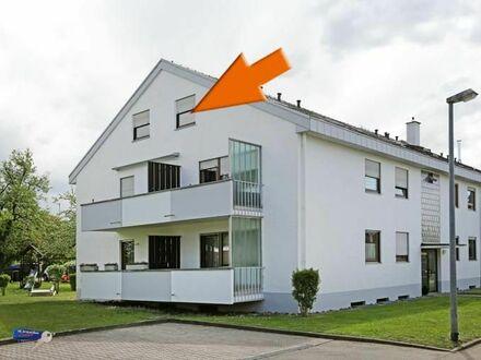 Tolle 2,5 Zimmerwohnung mit großer Dachterrasse