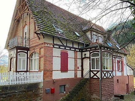 Großzügig mit Stil! 4-Zimmer-DG-Wohnung mit Balkon & PKW-Stellplatz im idyllischen Finkenbachtal ...