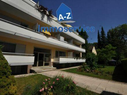 KOMPLETT RENOVIERTE, schöne u. ruhige 3-Zimmer-Wohnung mit 2 großen Balkone im Herzen von Harlaching