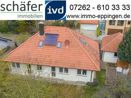 Verkauft! Ein Haus = Doppeltes Glück! - Schönes Zweifamilienhaus in Eppingen - Adelshofen