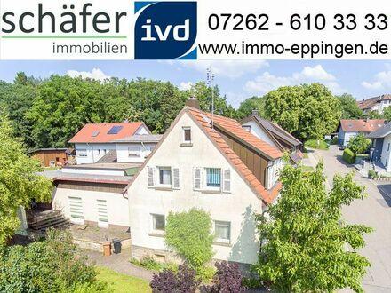 Verkauft! - Einfamilienhaus mit Charme und großem Grundstück