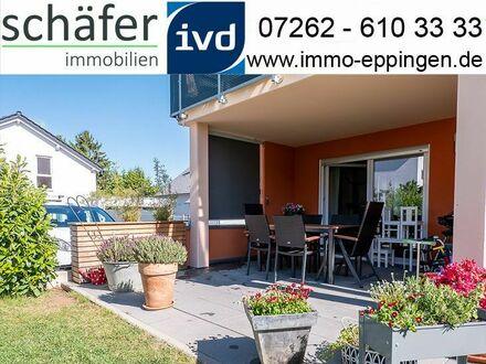 Verkauft! - Der neue Lieblingsplatz für Ihre Familie - schöne Erdgeschosswohnung mit Garten