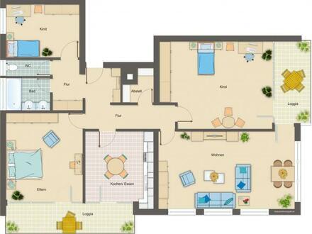 großzügige 4-Zimmer-Wohnung im Zentrum von Trochtelfingen
