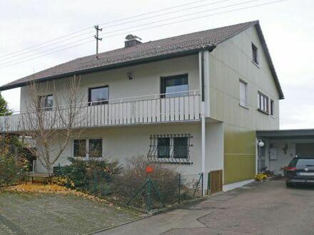 Gepflegtes Zweifamilienhaus in ruhiger Randlage