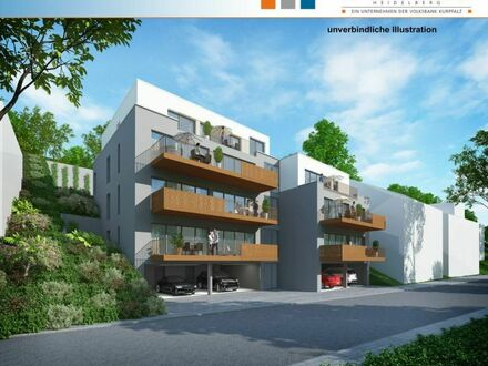 Neubauvorhaben in sonniger Wohnlage - Heidelberg-Ziegelhausen 4-Zimmer-Eigentumswohnung