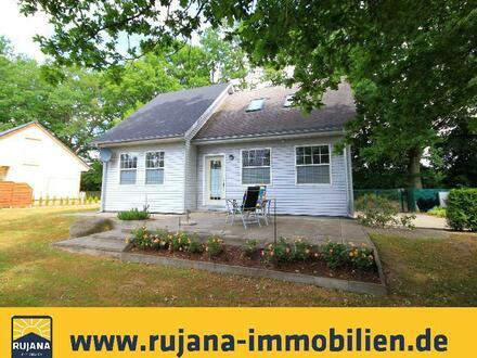 Canadian Flair auf der Insel Rügen - Ein Haus im Grünen in der Nähe des Ostseebades Binz