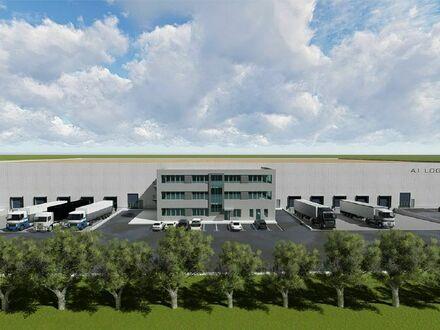 Neubau einer Lager- und Logistikhalle mit Top-Anbindung