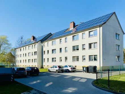 renovierte 2-Zimmer-Wohnung mit Ausblick ins Grüne