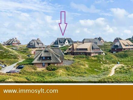 Reserviert! Lage, Lage, Lage! 1 Zi. Wohnung in den Dünen Rantums mit direktem Meerblick (Whg. 3)!