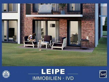 Familienwohnung! Neubau mit Terrasse und Gartenanteil in Rahlstedt!