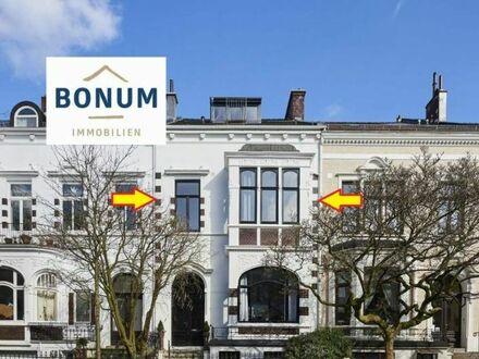 Für Kapitalanleger: Vermietete Eigentumswohnung im Jugendstil-Haus nahe Bürgerpark / Barkhof-Viertel