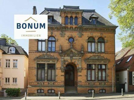 Architektonisch herausragendes Jugendstil -Baudenkmal in direkter und einmalig unverbaubarer Weserblicklage