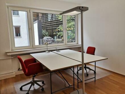 Sofort frei: Arbeitsplätze in Bürogemeinschaft, ruhige Lage in Elbnähe