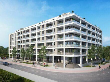 TT Immobilien bietet Ihnen: 2-Zimmer-Neubauwohnung im 1. OG mit Blick auf den Banter See!