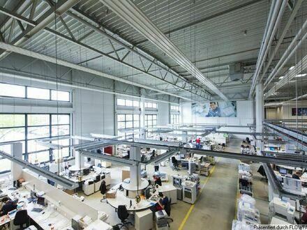 FIH - DER GEWERBEMAKLER - Hochwertige Lagerhalle mit großer Bürofläche