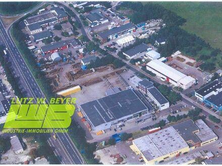 240m² Halle mit 120m² Büro und ca. 5.000 m² Freifläche unmittelbar an der BAB 23