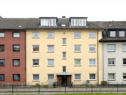 3-Zi.-Whng. 63 m² in HH-Wandsbek: Praktische Wohnung im 3. OG mit Balkon - ideal für Kleinfamilie