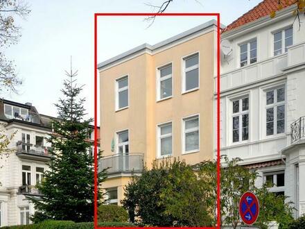 Mehrfamilienhaus mit 6 Wohnungen in HH-Hohenfelde: In guter Wohnlage - solide vermietet - 1 große Wohnung frei