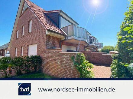 Norddeich - elegante Maisonette Wohnung