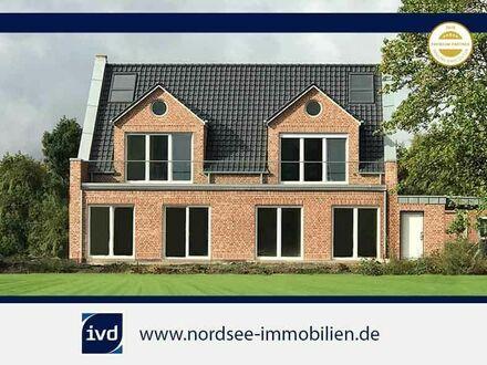 Norddeich : Neubau-Wohnung 70 m² im Kapitänsstil