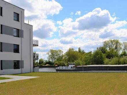 Geesthacht von seiner schönsten Seite! 4-Zimmerwohnung mit Balkon und Elbblick!